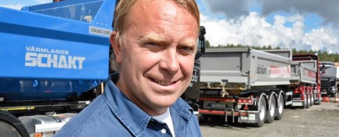 Värmlandsschakts vd Jonas Strömberg ser Täktens dag som en värdefull möjlighet att marknadsföra både företaget och branschen.