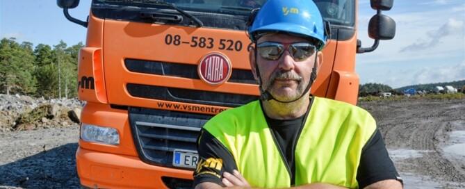Mikael Alm uppskattar kombinationen av lastförmåga, framkomlighet och komfort.