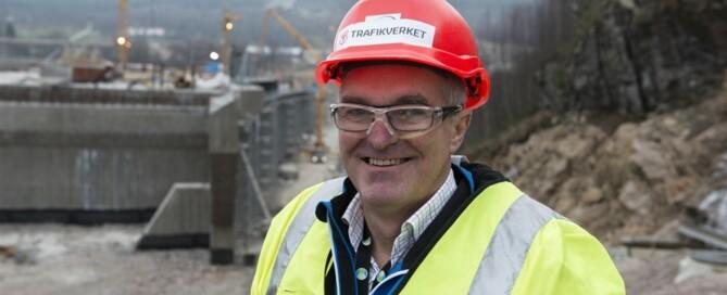 Gunnar Jellbin, projektledare på Trafikverket.