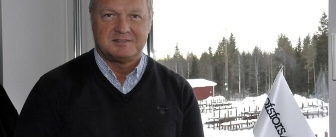Göran Nyberg, VD, menar att Olofsfors satsning på gruvnäringen är absolut rätt.
