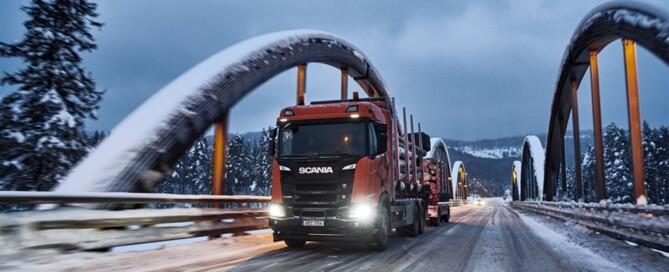 Extra tuff, Scania XT, R580 B6X4HA, som timmerbil.