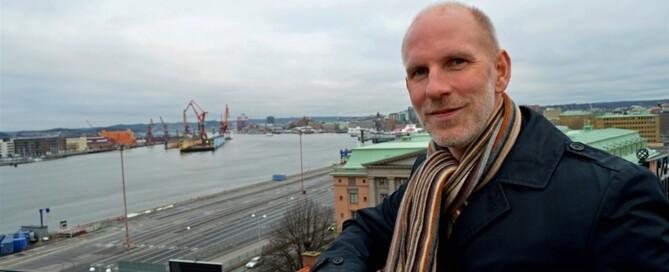 Larm och lås är värdelösa – om åkaren anställer en tjuv, säger Nicklas Franklin. Foto: Clas-Göran Sandblom