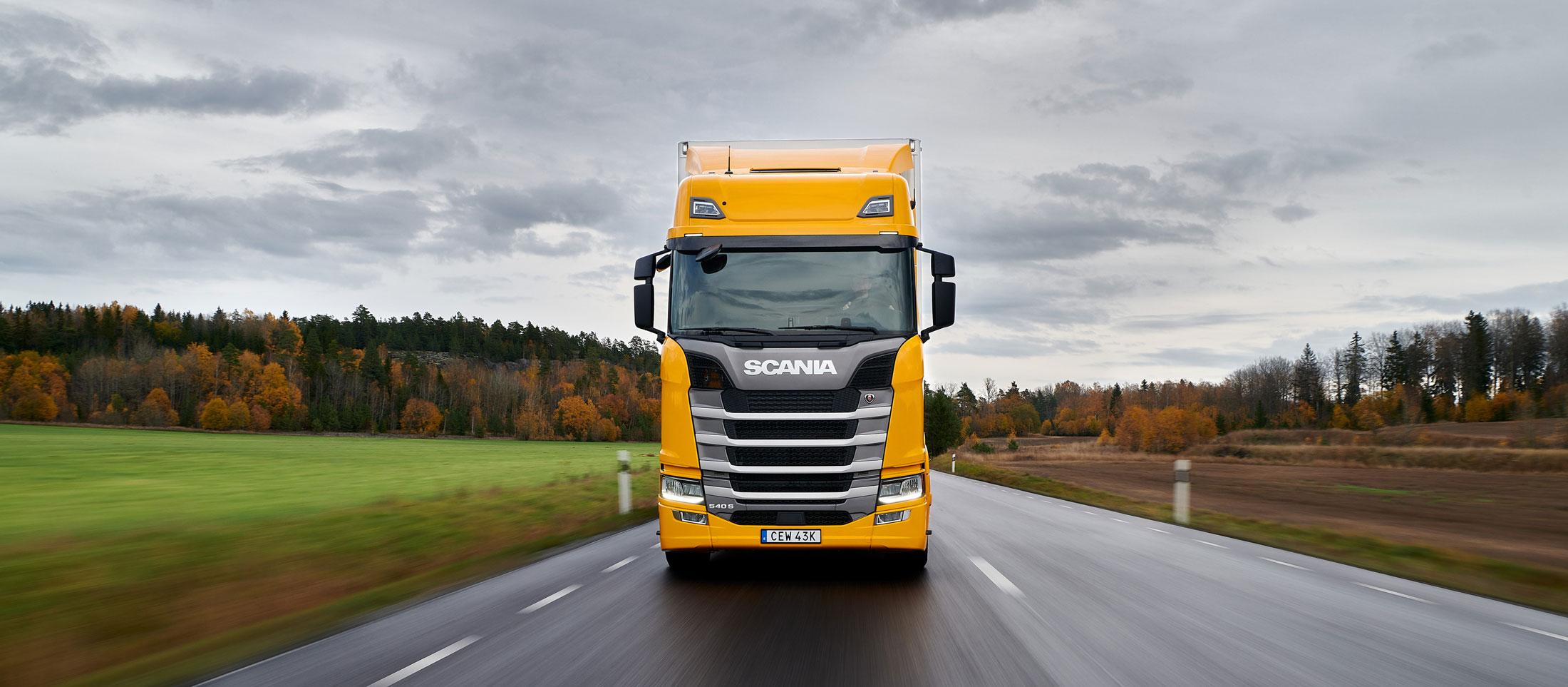 Scania-lastbil