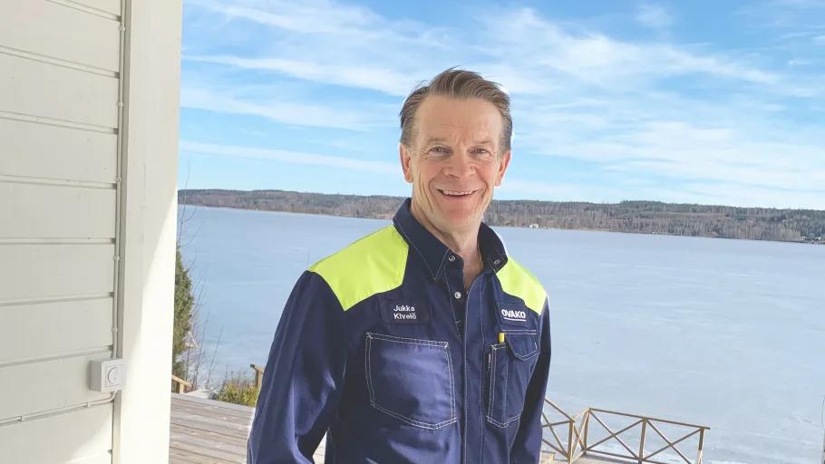 Jukka Kivelö, General Manager, Sales Unit Scandinavia, Ovako om svensk stålindustri.