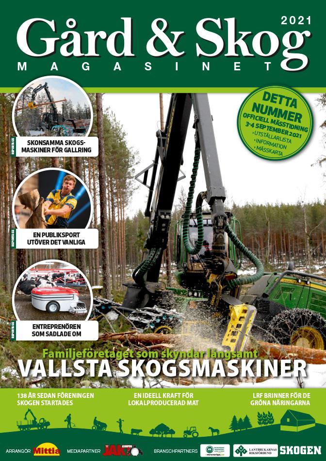 Mässtidning Mittia Gård & Skog 2021