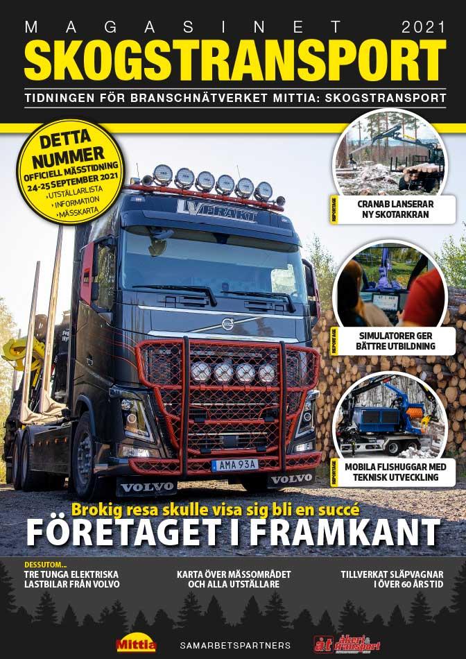 Mittia: Skogstransport 2021